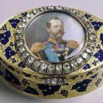 Jewelry box, enamel