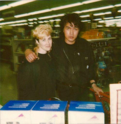 Joanna Stingray and Viktor Tsoi in the States
