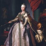 Portrait of Catherine the Great by Dmitry Levitzky
