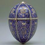 Twelve Monogram Golden Faberge egg