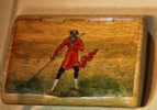 Lacquer miniature painting at All-Russia Museum of Decorative and Folk Art, Moscow