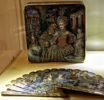 Lacquer miniature painting at All-Russia Museum of Decorative-Applied and Folk Art