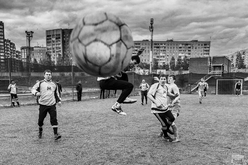 Anton Muhametchin. Street Football. Novosibirsk. 2014 Photo project Best of Russia