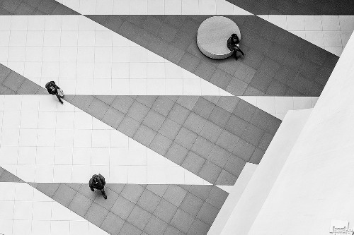 Geometry. Photographer Julia Belova. St. Petersburg