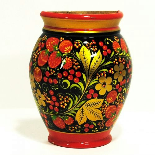 Golden Khokhloma - brightest phenomenon of Russian folk arts