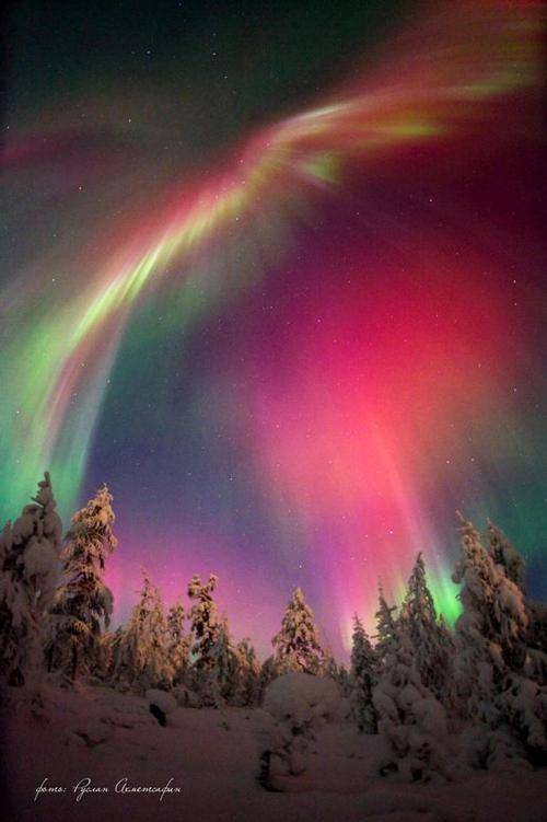 Northern Lights by Russian photographer from Yakutia Ruslan Akhmetsafin