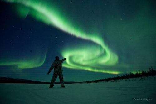 Northern Lights by photographer from Yakutia Ruslan Akhmetsafin