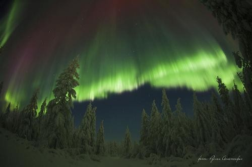 Northern Lights photography by Ruslan Akhmetsafin