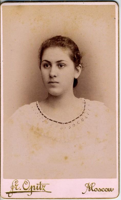 Olga G. Averkieva, graduate of 1896