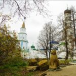 Russian churches divine beauty