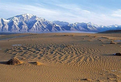 The Chara desert in Siberia