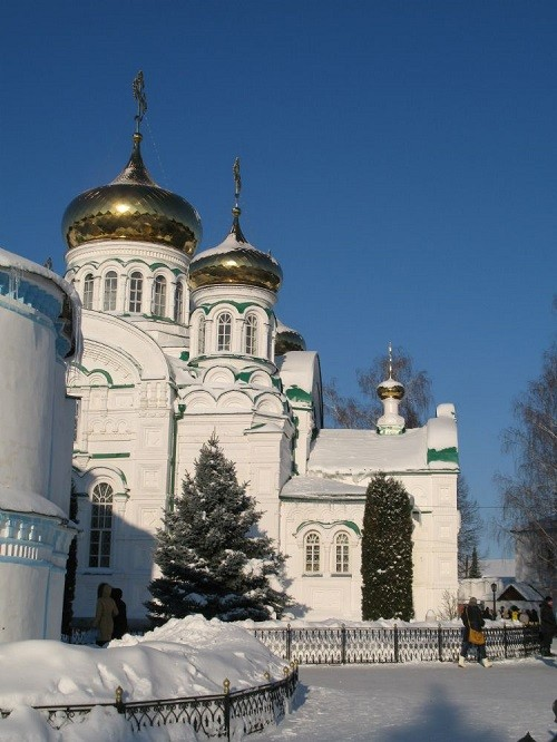 The Raifa Bogoroditsky Monastery in January 2015