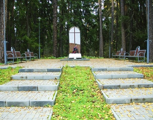 This is a monument to reconciliation. It is dedicated to all those who died in Raifa monastery during the Civil War