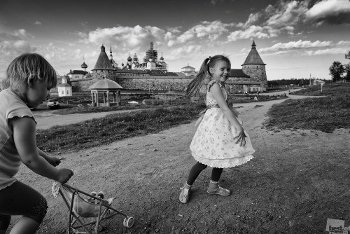 Towards the joy. Photographer Julia Popova. Arkhangelsk, Solovki