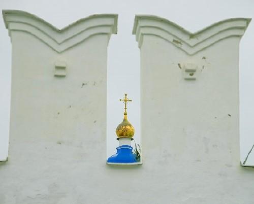 Walls of monastery