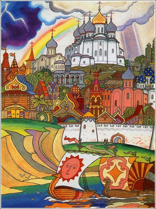 Russian medieval epic Sadko