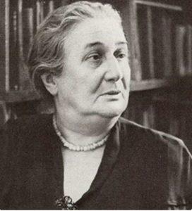 Anna Akhmatova. Photo of the early 1960s