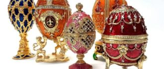 Chic Imperial Easter Eggs