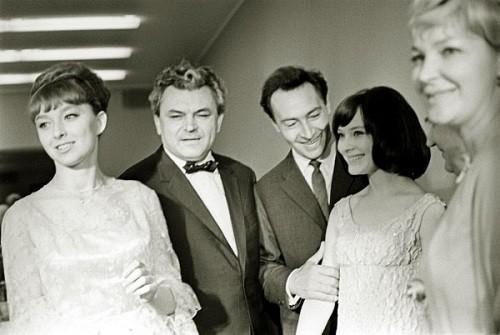 Anastasia Vertinskaya, Sergei Bondarchuk, Vyacheslav Tikhonov, Ludmila Savelieva. 1965