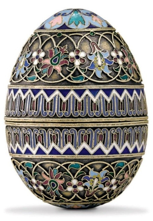 Russian Imperial Easter Eggs. Work by Pavel Ovchinnikov