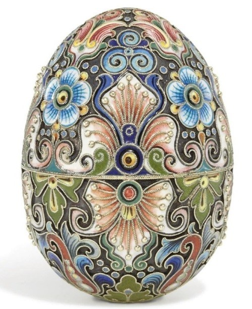 Russian Imperial Easter Eggs. Work of Fyodor Ruckert, Moscow, 1896-1908