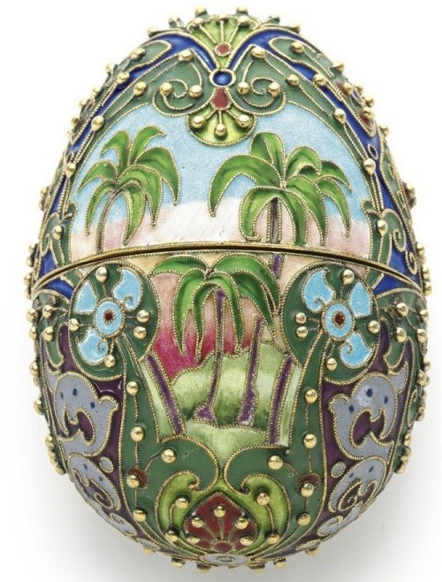 Easter eggs (Russia, late XIX - early XX centuries)