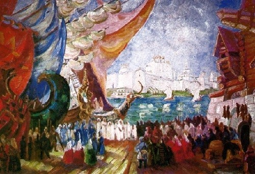 FF Fedorov. 'Sadko'. Rimsky-Korsakov. 1935