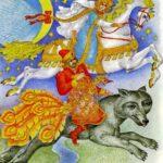 Russian folk tale Fire-bird