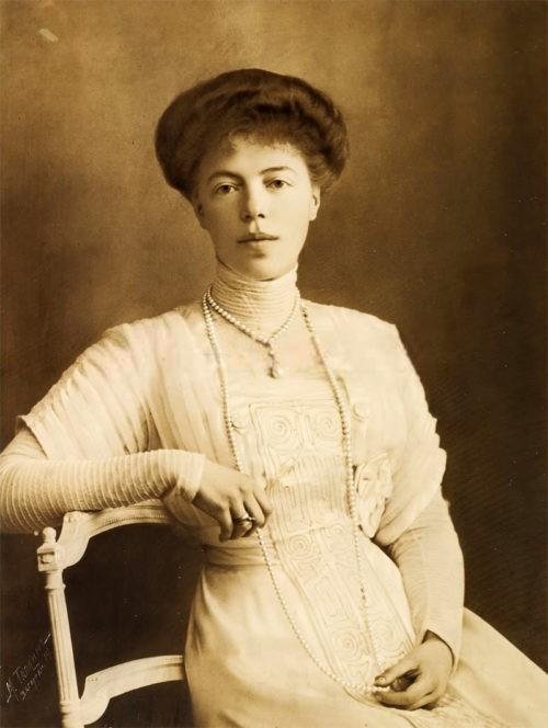 Russian artist Grand Duchess Olga Romanova. Grand Duchess Olga Alexandrovna.