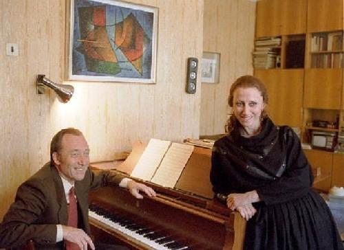 Maya Plisetskaya and Rodion Shchedrin