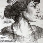 Russian modernist poet Anna Akhmatova