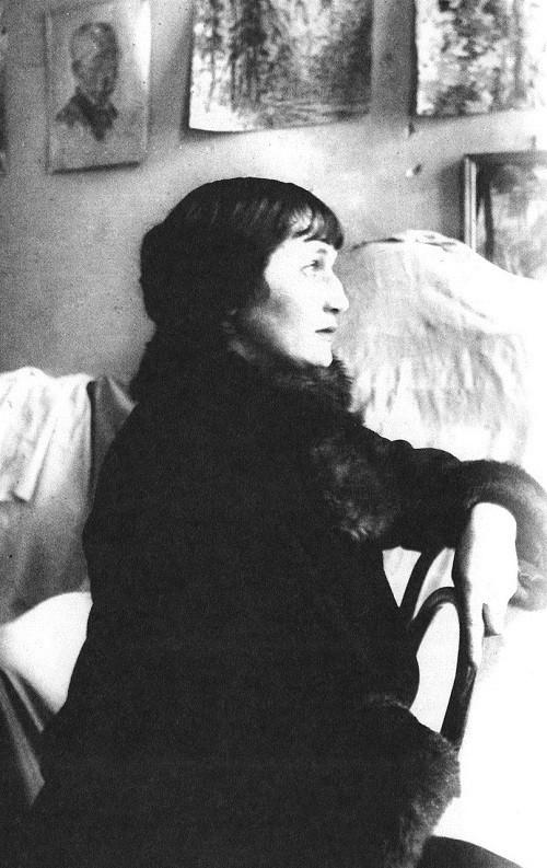 Russian modernist poet Anna Akhmatova (June 23 1889 — March 5, 1966)