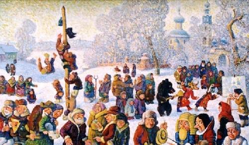 Russian festival Maslenitsa