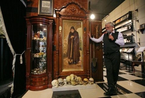 Russia's only Museum of World Funeral Culture