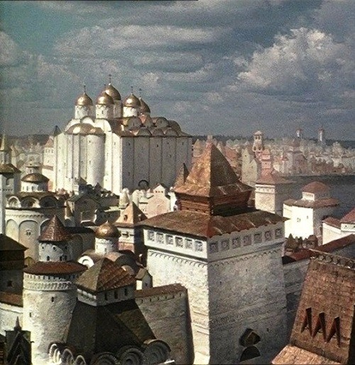 Russian medieval epic Sadko, 1952 Russian fantasy film directed by Aleksandr Ptushko