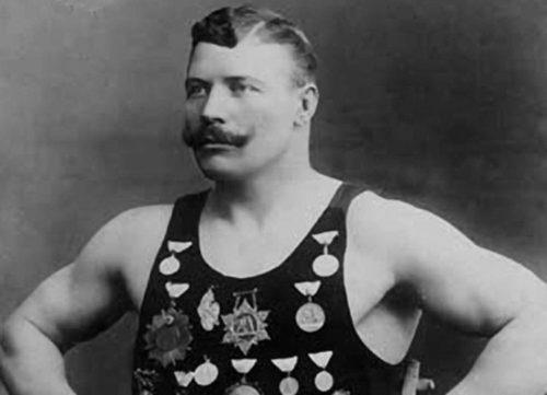 Strongman Ivan Poddubny