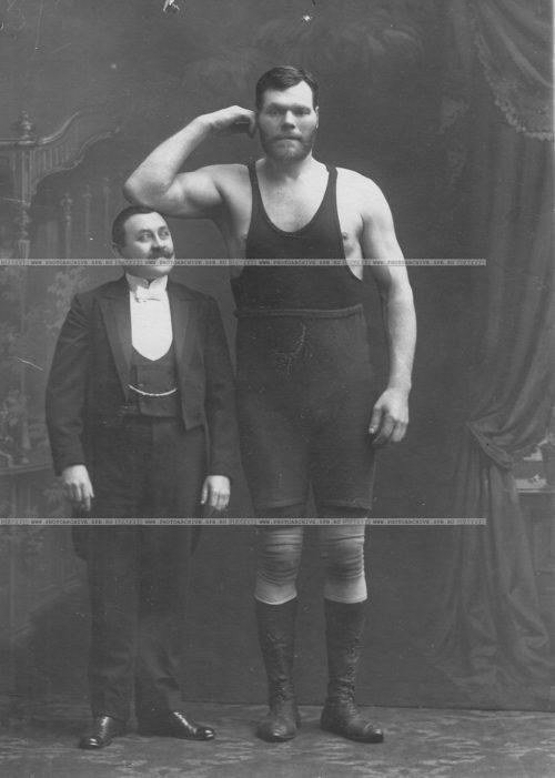 Wrestler Grigory Kashcheev