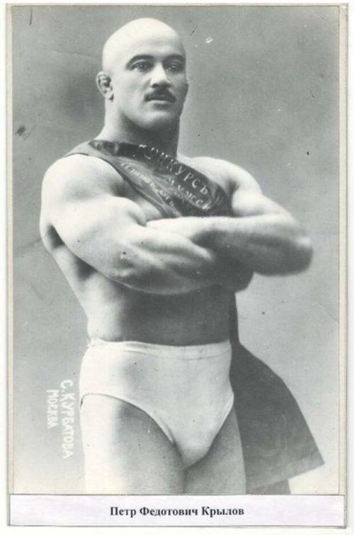 King of weights Pyotr Krylov
