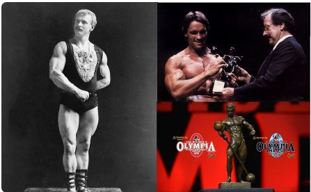 Evgeny Sandov Russian strongmen is the ideological inspirer of modern bodybuilding. At one time, Arnold Schwarzenegger himself received a bronze statuette of Sandow (1867 - 1925)