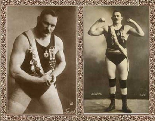 Russian strongmen. Fyodor Besov