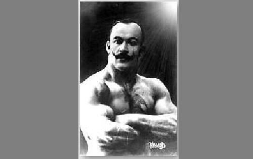 Pyotr Krylov (Pierre Kryloff) - Russian strongmen