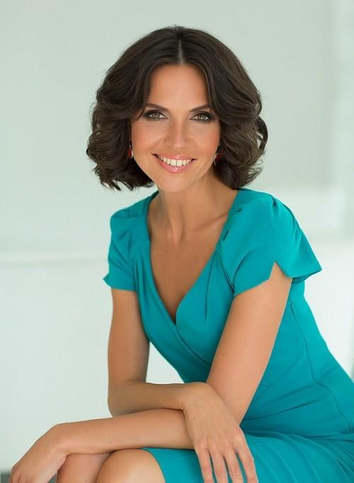 Anastasia Chernobrovina, TV presenter of 'Morning of Russia' on RT ...