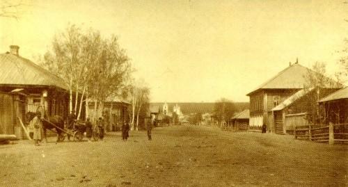Dostoevsky street, Kuznetsk. Photo of 1913