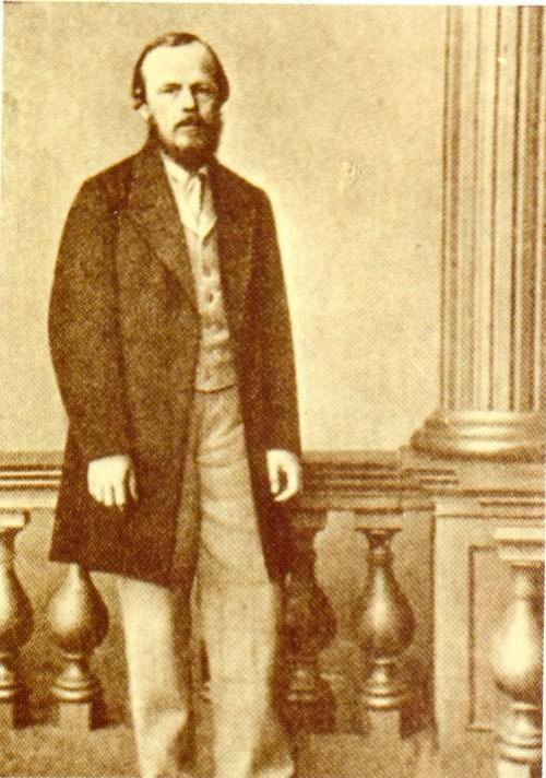 1861 photo of FM Dostoevsky