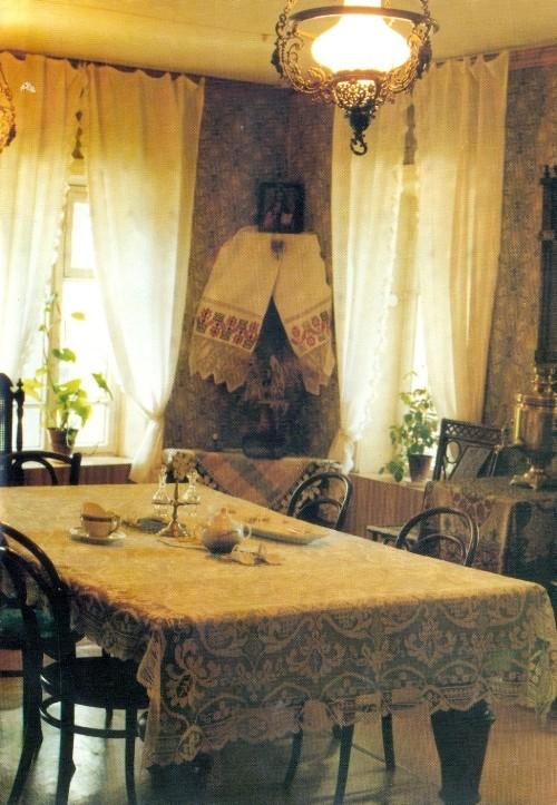 Inside the literary-memorial museum FM Dostoevsky in Novokuznetsk
