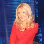 News presenter Yekaterina Andreyeva