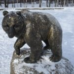 Monuments to Bear in Russia