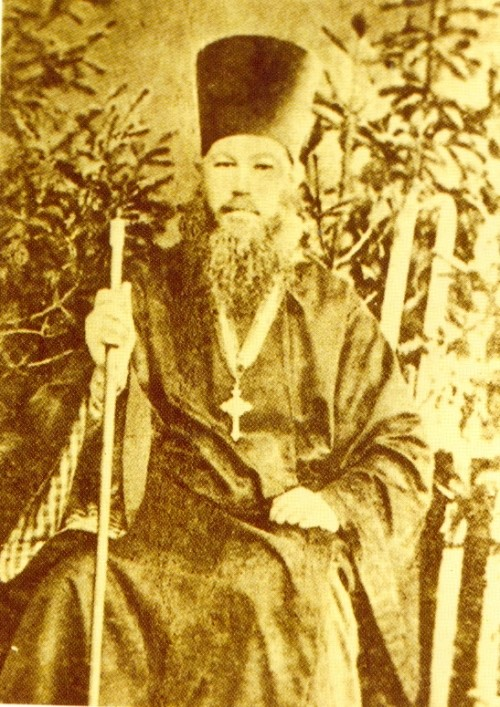 Priest EI Tyumentsev. Photo 1890