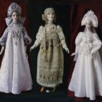Russian folk costume dolls by Elena Pelevina