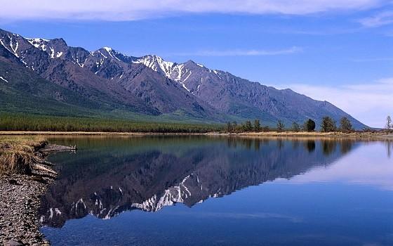 Lake Baikal and Sayany, Siberia. Russia most popular sites